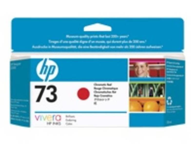 HP 73 130 ml Chromatic Red Ink Cartridge  CD951A