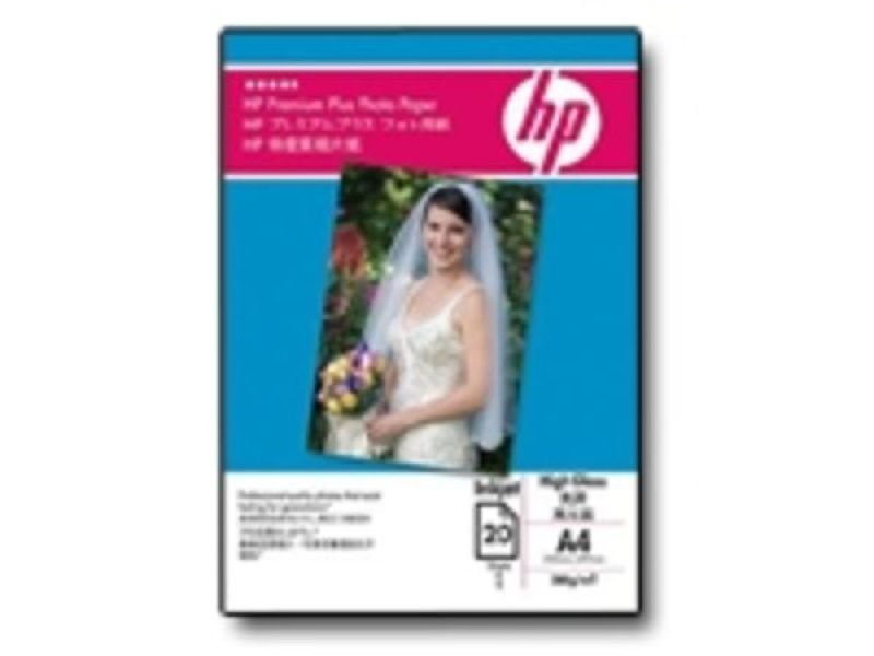 HP Premium Plus (A6) High-Gloss Photo Paper (2 Packs of 25 Sheet) 280gsm (White)