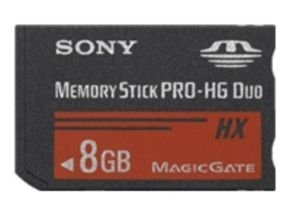 Sony 8GB Memory Stick Pro-HD Duo