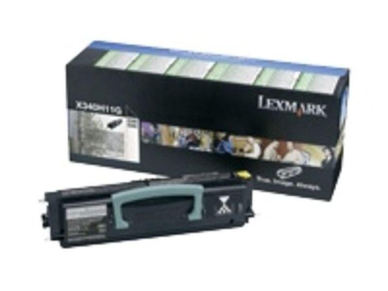 Lexmark X340 Black Return Program Toner Cartridge 0X340A11G
