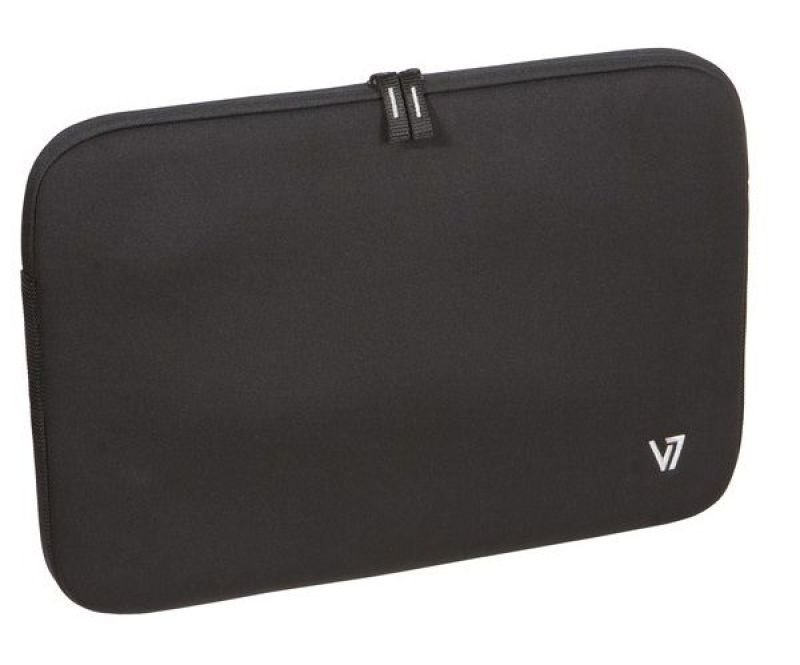 "Image of V7 Professional Laptop Sleeve, For Laptops up to 16"" - Black"