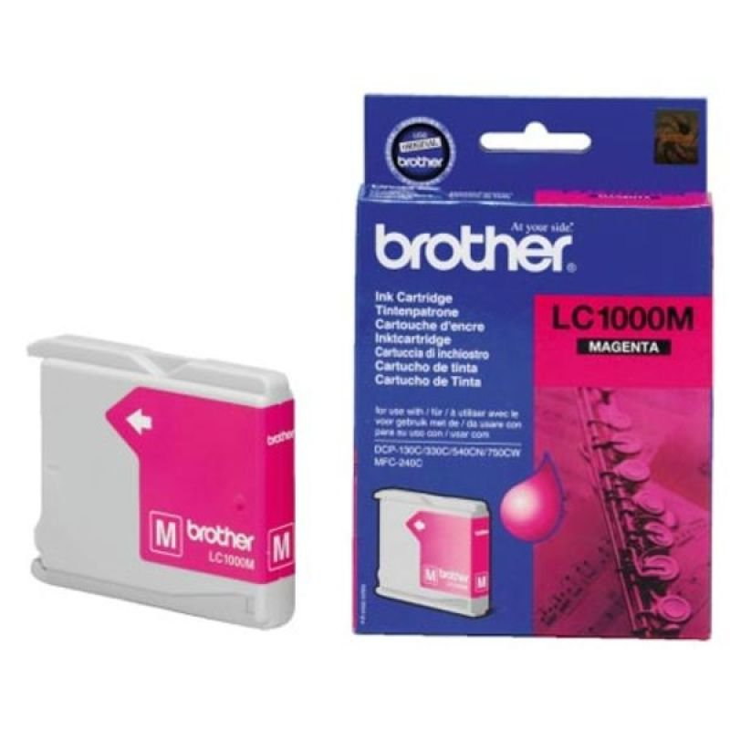 Brother LC1000M Magenta Ink Cartridge