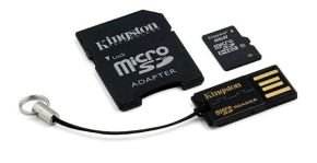Kingston 8GB microSDHC with USB Reader