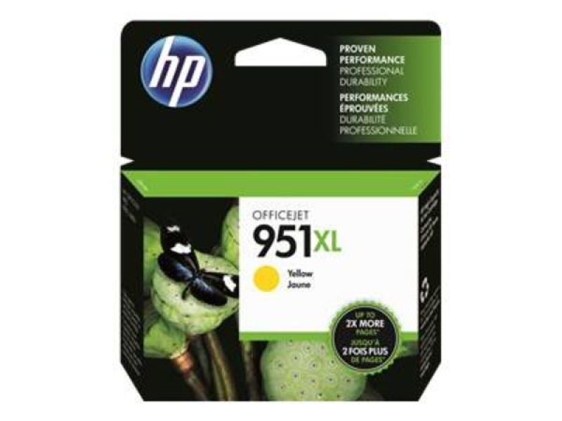 HP 951XL Yellow Ink Cartridge - CN048AE