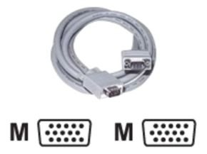 C2G, Premium Shielded HD15 M/M SXGA Monitor Cable, 3m