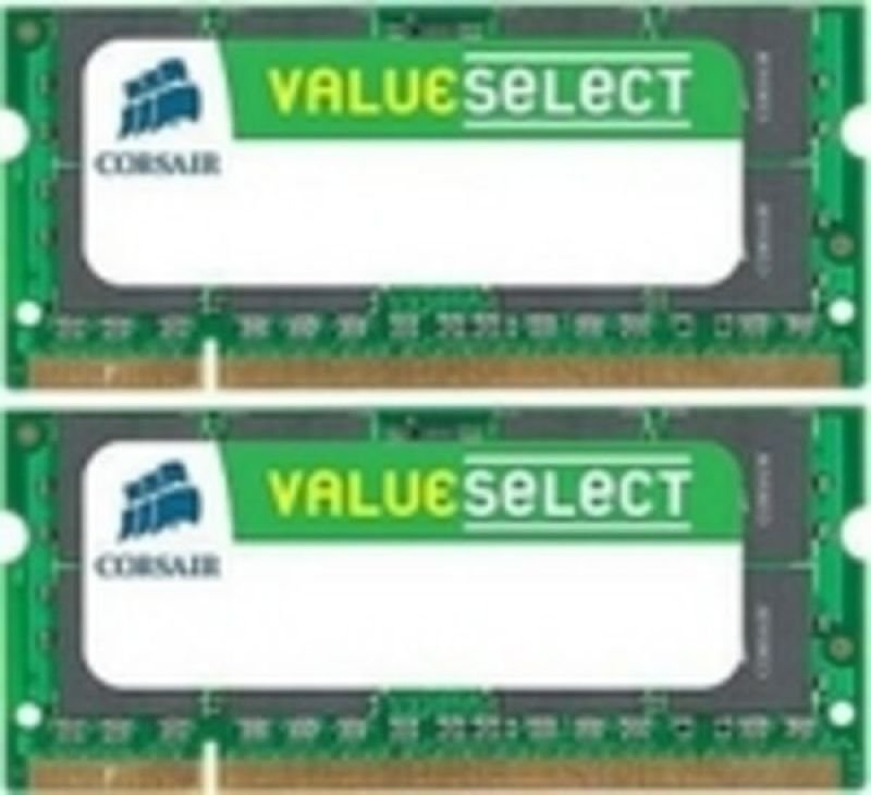 Corsair 4GB (2x2GB) DDR2 800MHz/PC2-6400 Laptop Memory CL5 1.8V