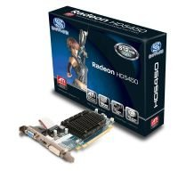 Sapphire HD 5450 512MB DDR3 HDMI DVI VGA Out PCI-E Low Profile Graphics card