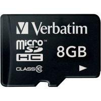 Verbatim 8GB Class 10 MicroSDHC Card