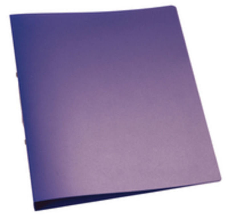 Q CONNECT RING BINDER FROSTED PURPLE