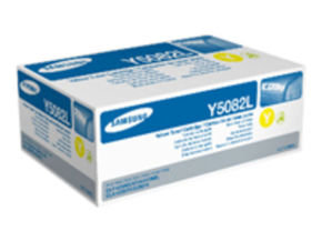 Samsung CLT-Y5082L Yellow Toner Cartridge - 4,000 Pages