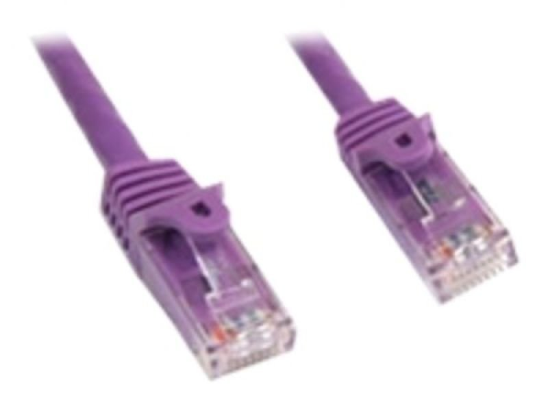 StarTech.com Snagless Cat6 UTP Patch Cable 15.2m Purple