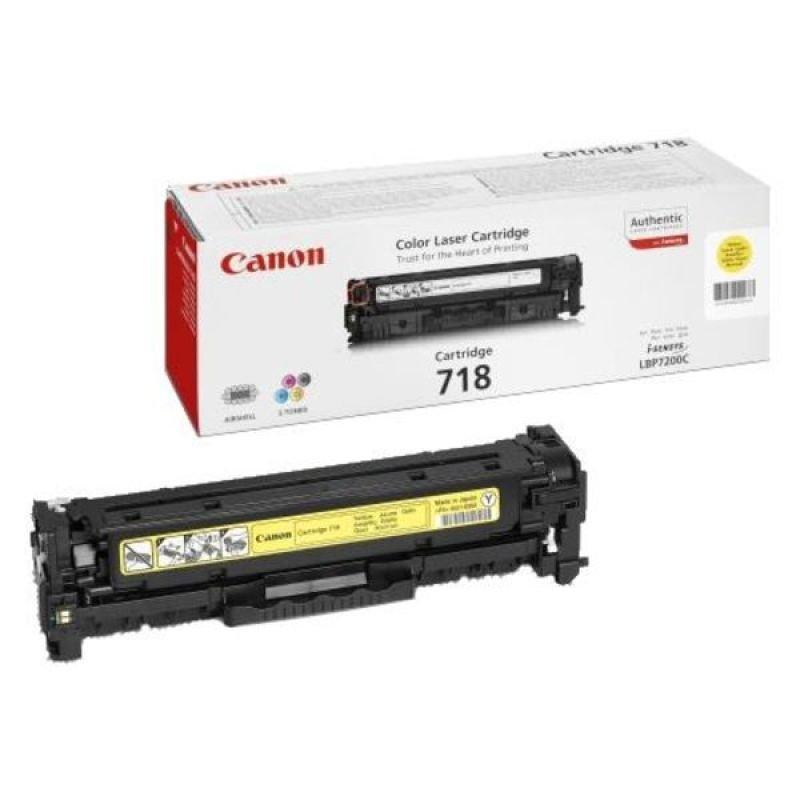 Canon TONER YELLOW CRG 718 - F/ LPB 7200CDN