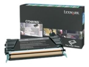 Lexmark C736H1KG High Capacity Black Toner Cartridge