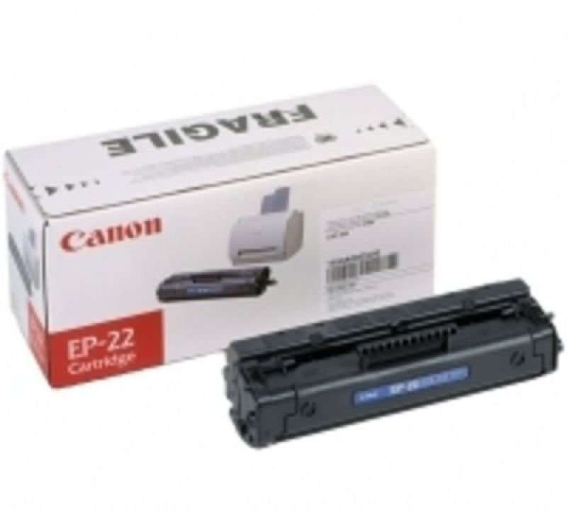 Canon EP 22 Black Laser Toner Cartridge 2500 Pages