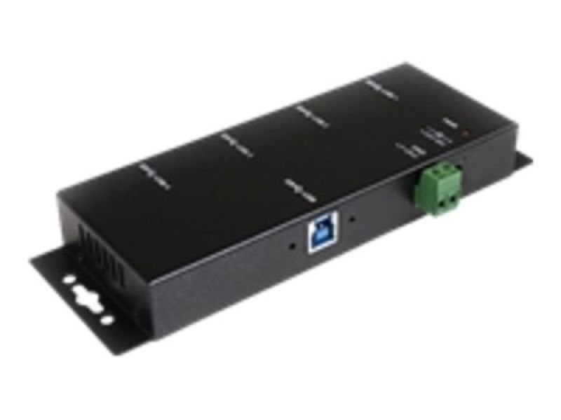 StarTech.com Mountable 4 Port Rugged Industrial SuperSpeed USB 3.0 Hub