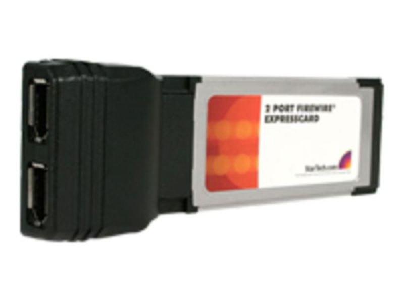 Image of StarTech.com 2 Port ExpressCard 1394a FireWire Laptop Adapter Card