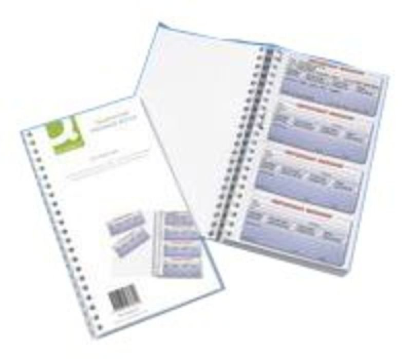 Q CONNECT TEL MESSAGE BOOK 200 DUP