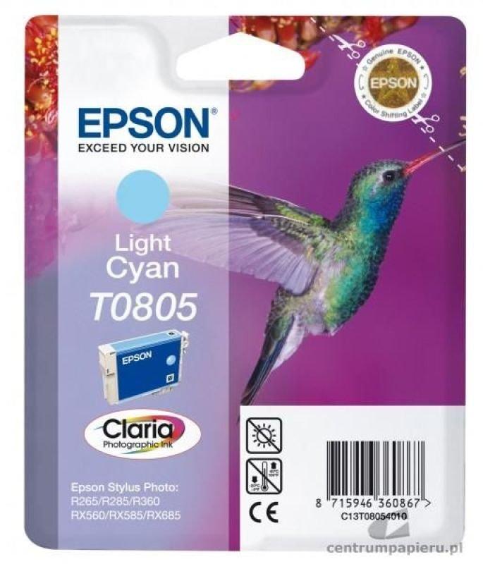 Epson T0805 Print cartridge - 1 Light cyan