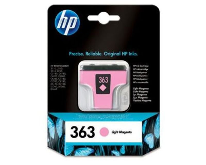 HP 363 Light Magenta Ink Cartridge - C8775EE