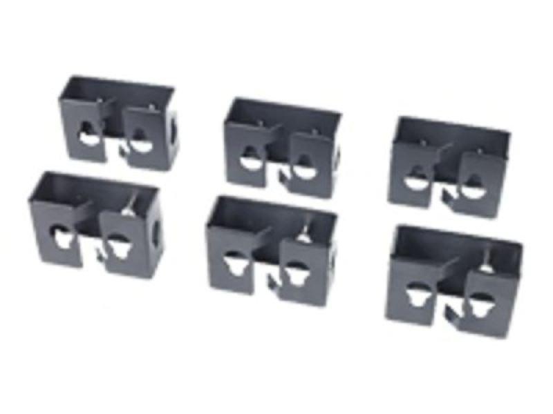 APC Cable Containment Brackets with PDU Mounting Black