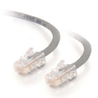 C2G, Cat5E 350MHz Snagless Patch Cable Grey, 1.5m