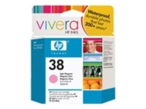 HP 38 27ml Pigmented Light Magenta Ink Cartridge - C9419A