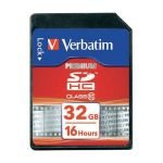 Verbatim 32GB Secure Digital High Capacity Card