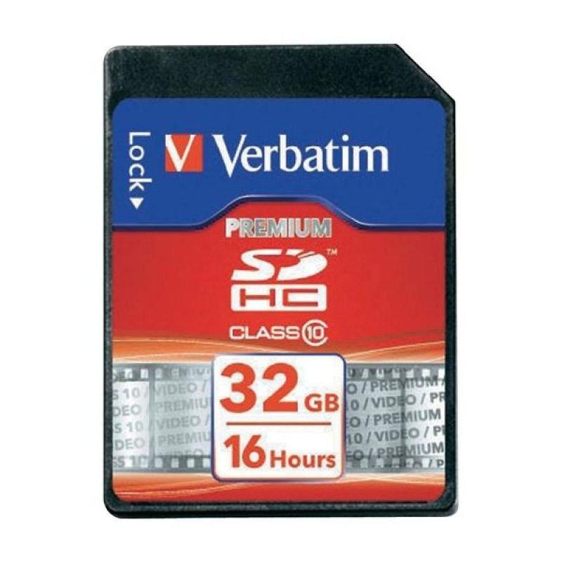 Verbatim 32GB Secure Digital High Capacity Card