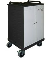 LapSafe UnoCart iPad16 Secure Ipad Storage Trolley
