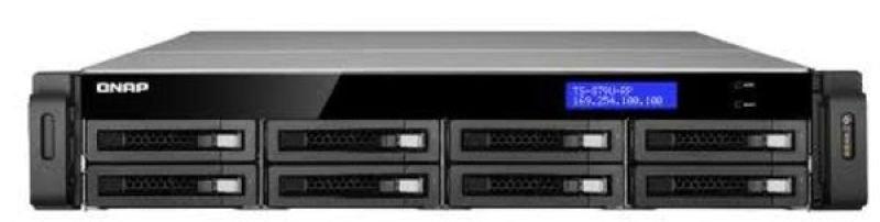QNAP TSEC879URPE10G 8 Bay 10GbE 8TB NAS