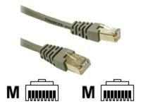 C2G Shielded Cat5e Moulded Patch Cable Grey 50m