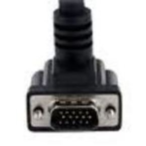 StaTech High Resolution 90° Down Angled VGA Monitor Cable 1.8m