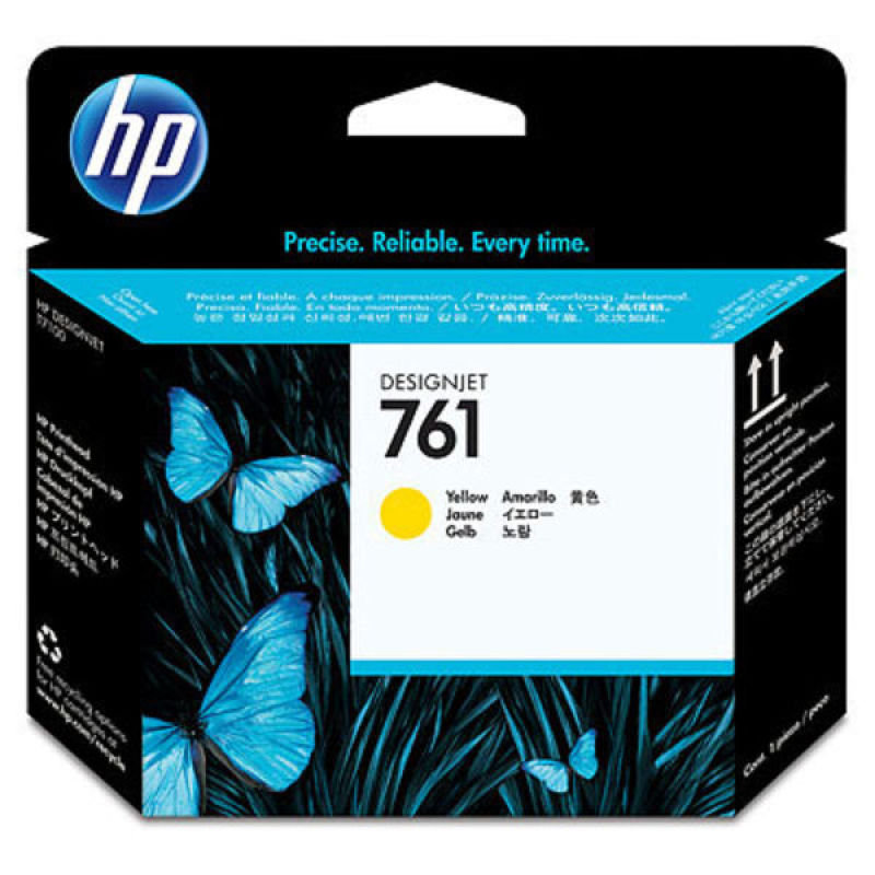 HP No 761 Yellow DesignJet Print Head