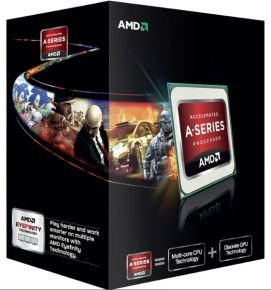 AMD A10 5800K Black Edition 3.8GHz Socket FM2 4MB L2 Cache Retail Boxed Processor