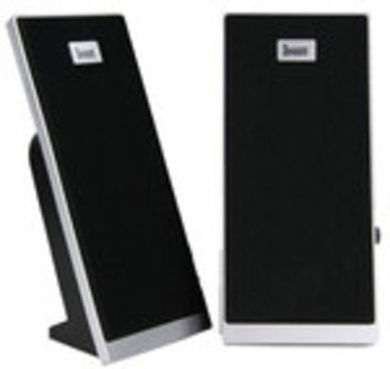 DiVoom Black Super Slim 2.0 USB PC Speakers - 3W RMS