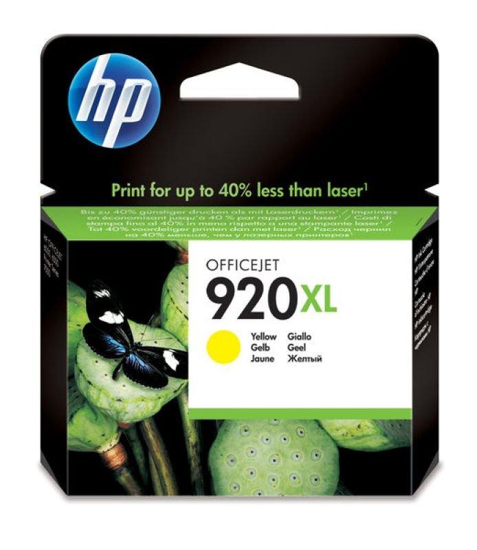 HP 920XL Yellow Ink Cartridge - CD974AE