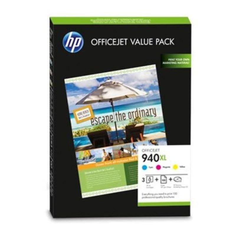 HP 940XL Officejet Brochure Value Pack Print cartridges