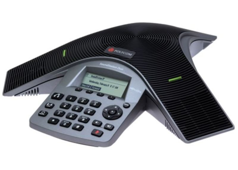 Polycom Soundstation Duo Conference VoIP Phone
