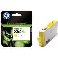 HP 364XL High Yield Yellow Original Ink Cartridge - CB325EE
