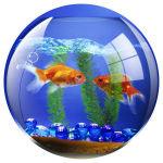 Fellowes BritePad Mouse Mat - Goldfish Bowl