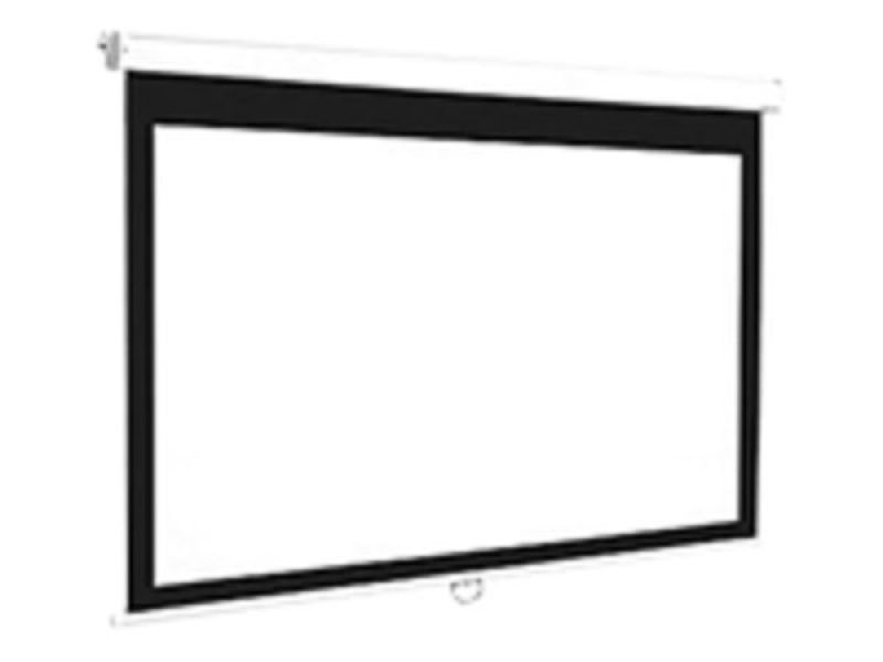 Bjurab Euroscreen Connect Square Format Manual Projection screen 1:1 Matte White 180 X 180cm