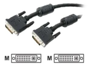 StarTech DVI-I Dual Link Digital Analog Monitor Cable 6.1m Black