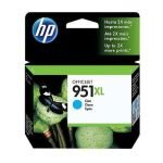 HP 951XL Cyan Original Ink Cartridge - High Yield 1500 Pages - CN046AE