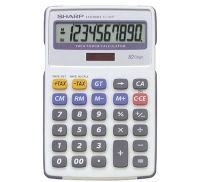 Sharp EL334FB Semi Desktop Calculator