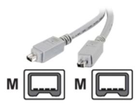 C2G, IEEE-1394 FireWire Cable 4-Pin/4-Pin, 2m