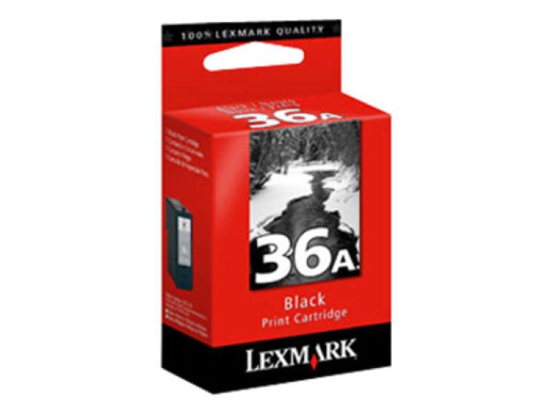 LEXMARK NO 36A BLACK INKJET PRINT CART