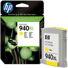 HP 940XL Yellow Ink Cartridge - C4909AE