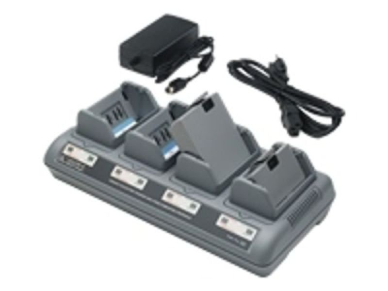 Zebra Quad Charger with Power Adapter