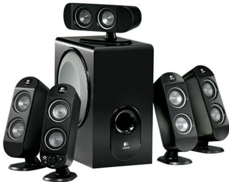 Logitech X-530 5.1 Speakers - 70W RMS