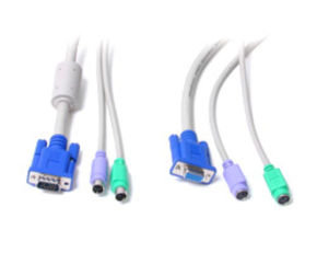 Startech 15 ft 3-in-1 PS/2 KVM Extension Cable